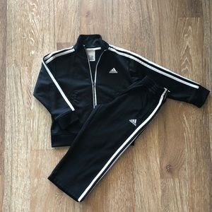 Adidas track suit for toddlers